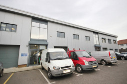 Light Industrial Unit To Rent Located In The Foundry Business Park In Faversham
